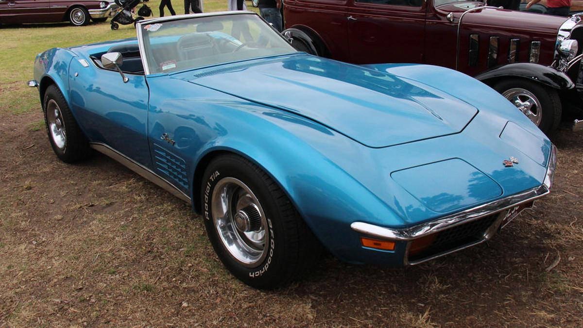 Chevy Corvette 1972 como nuevo