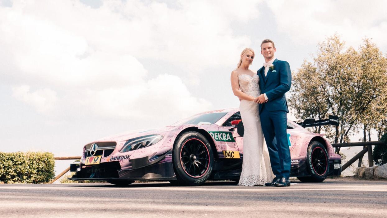 Coches de boda: Mercedes AMG DTM (I)
