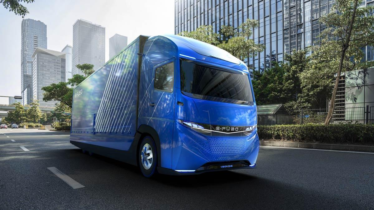 Daimler E-FUSO Vision One camión eléctrico prototipo