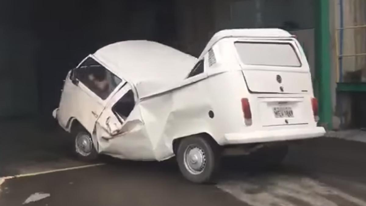 Esta Volkswagen T2 se ríe de los test EuroNCAP