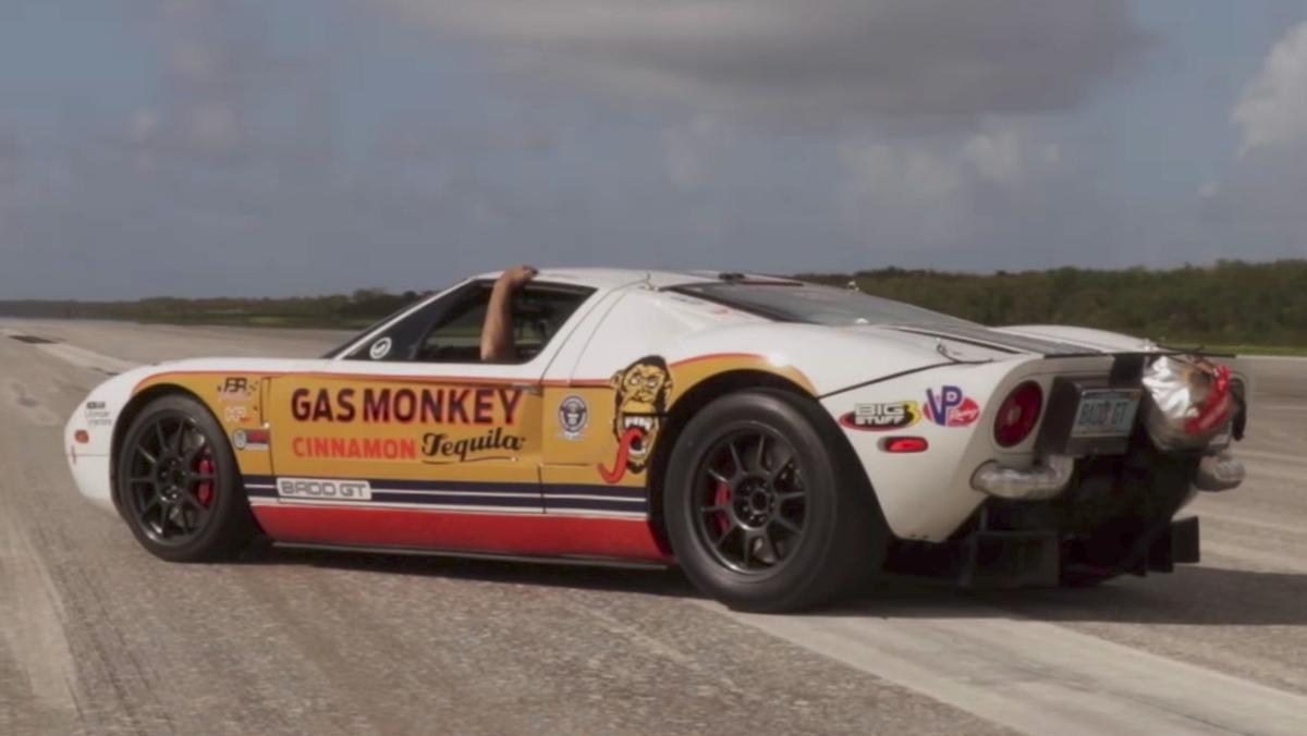 Este Ford GT alcanza los 470 km/h...