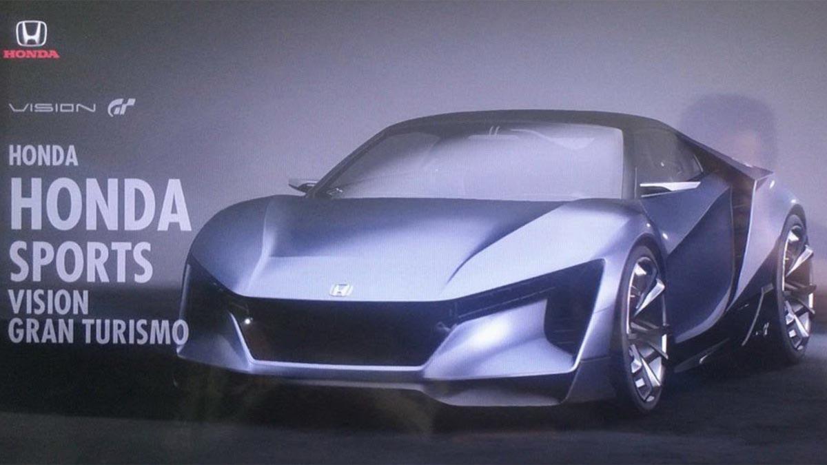 Honda Sports Vision Gran Turismo prototipo virtual