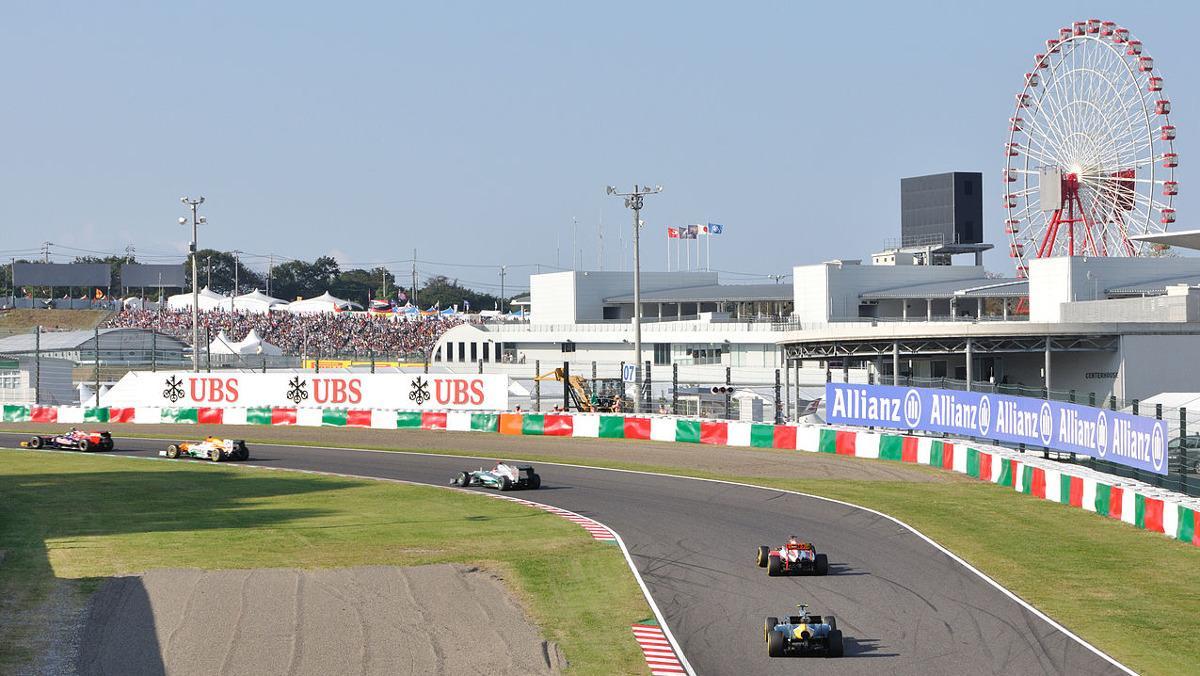Horarios GP Japón F1 2017