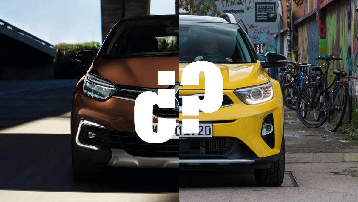 Kia Stonic o Renault Captur: ¿cuál comprar?