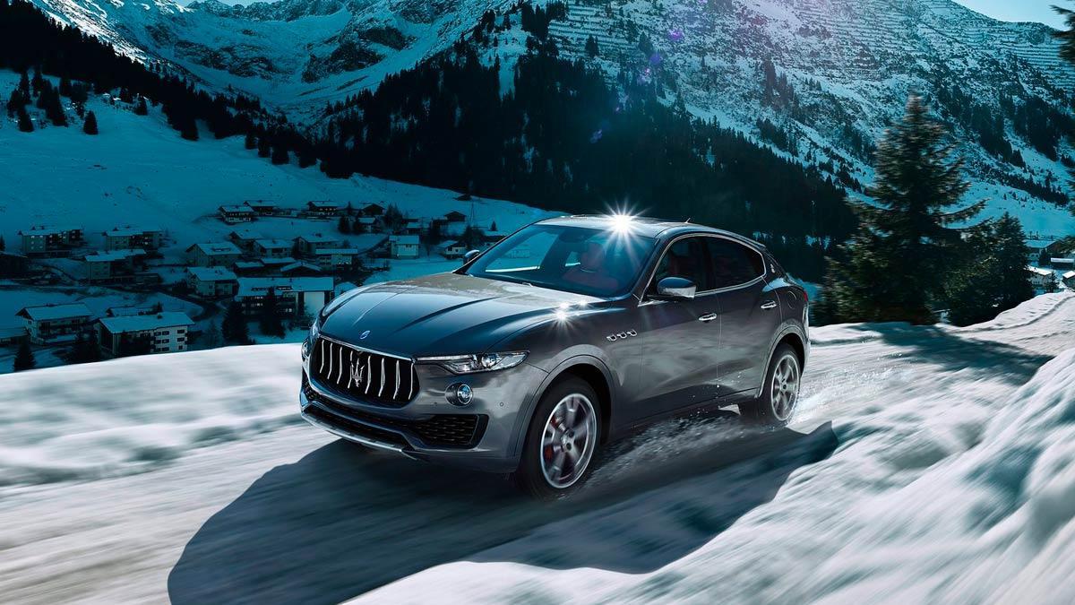 Mejor gasolina que diésel: Maserati Levante SUV lujo 4x4
