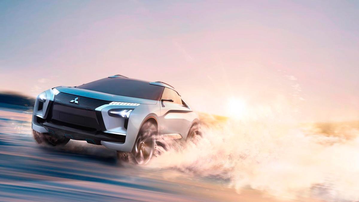 Mitsubishi e-Evolution Concept (I)