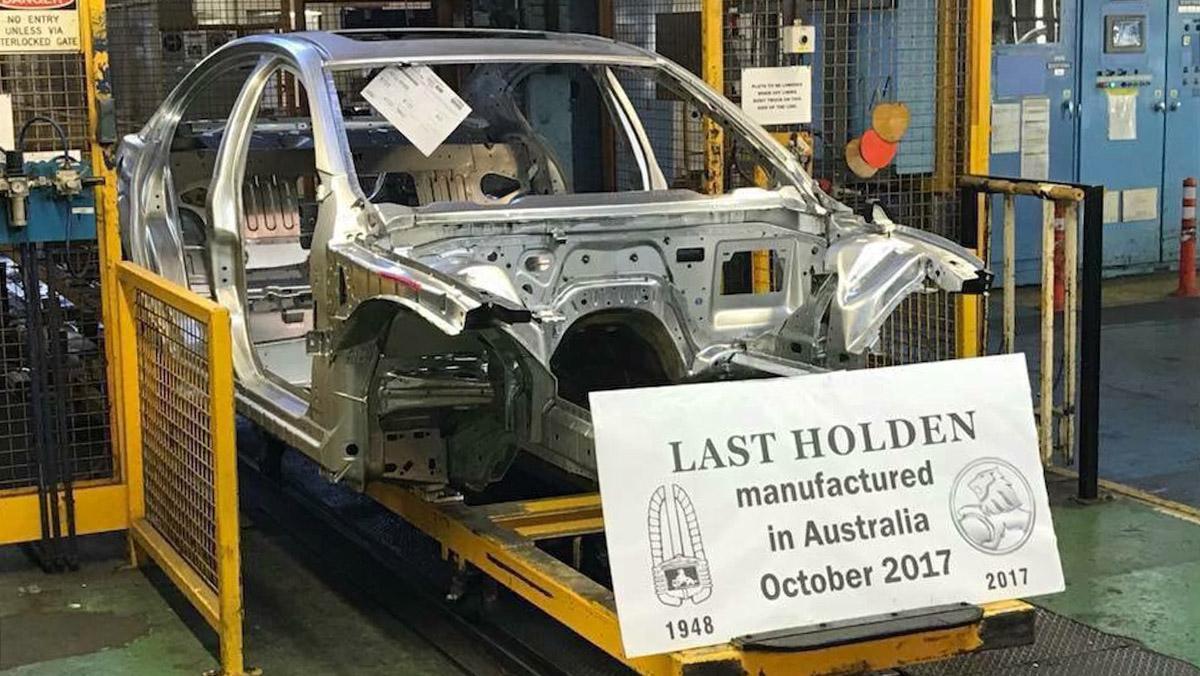 El último coche producido en Australia