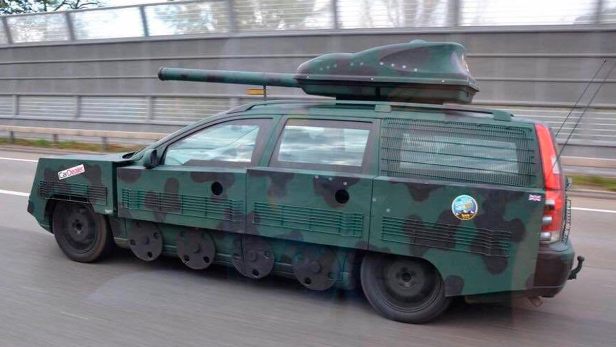 Volvo tanque