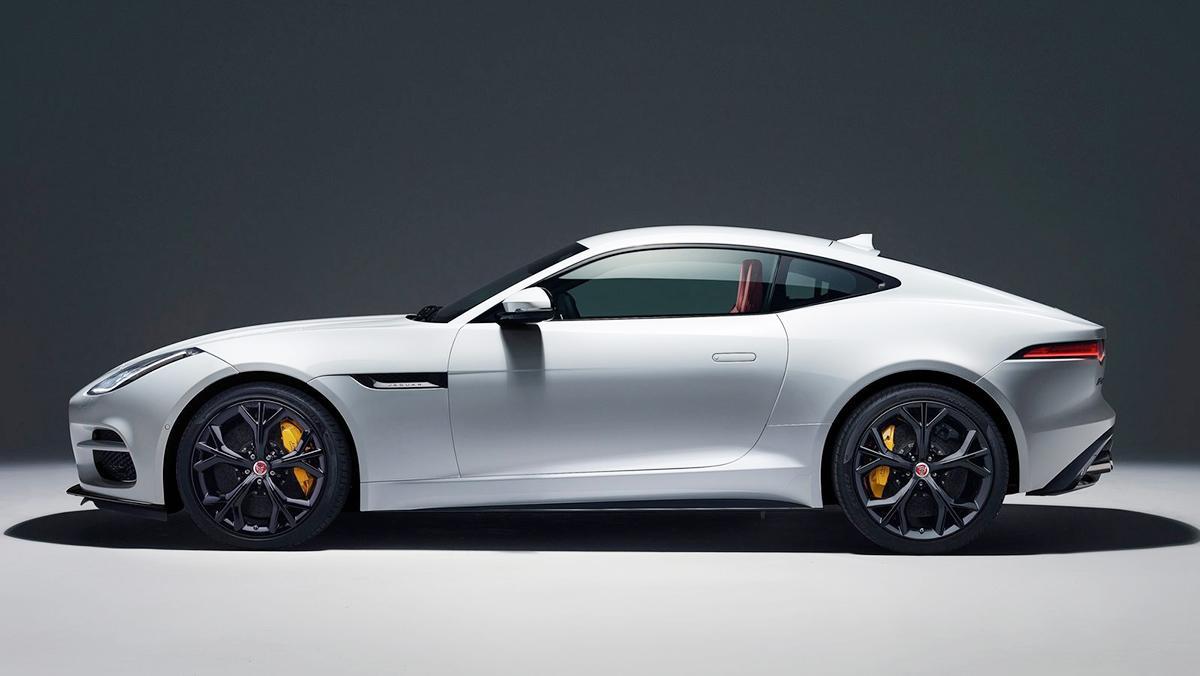 10 deportivos más lentos que el camión de Tesla - Jaguar F-Type
