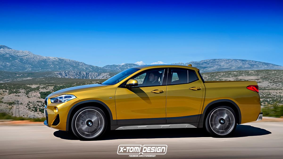 BMW X2 pick-up de X-Tomi