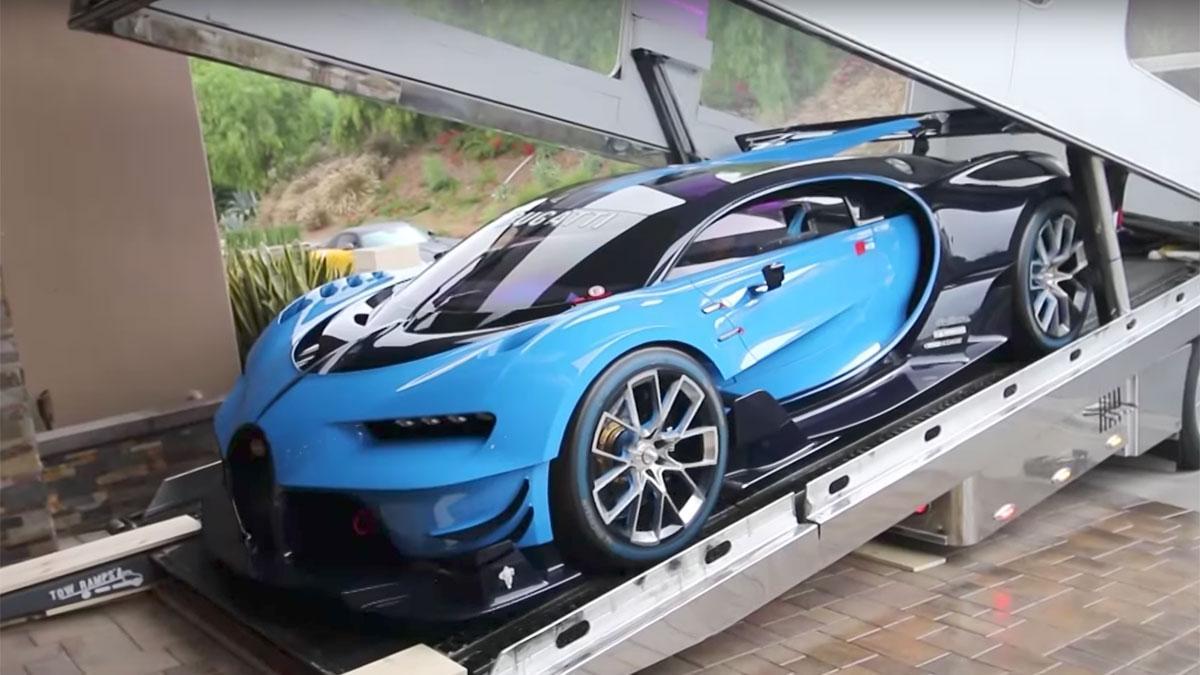 Bugatti Vision GT entrega hiperdeportivo lujo