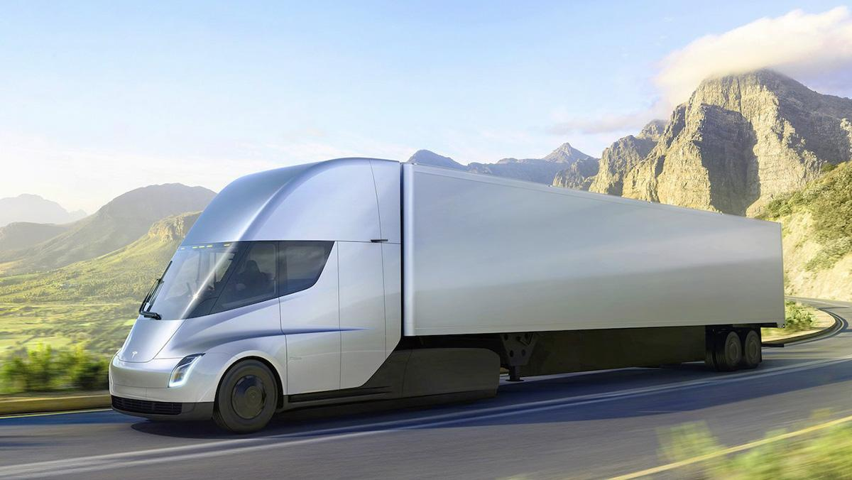 El camión de Tesla