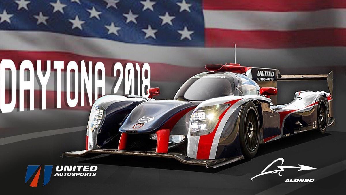Coche de Alonso Daytona