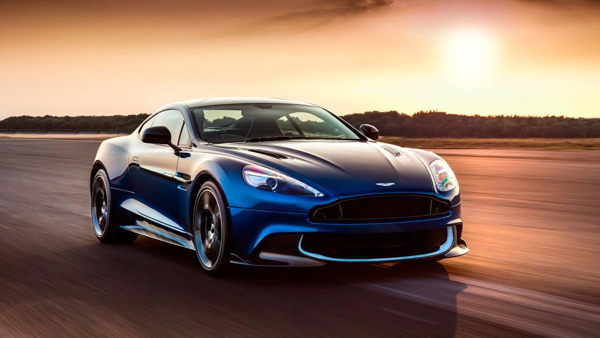 Deportivos menos vendidos: Aston Martin Vanquish