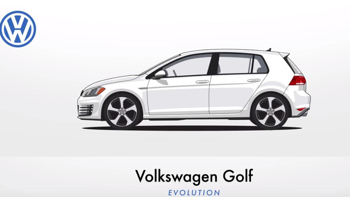 Evolución del VW Golf en imágenes