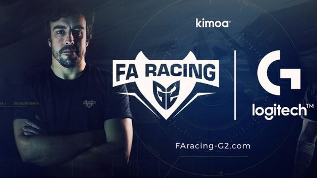 FA RACING G2, la escudería virtual de Alonso