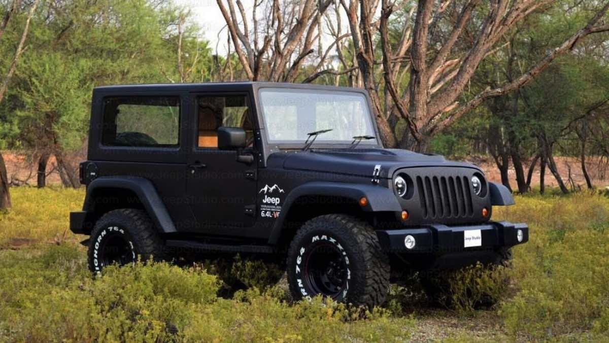 Jeep Wrangler - réplica Mahindra