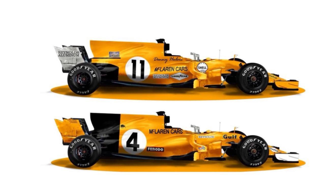 McLaren F1 2018 'renders'