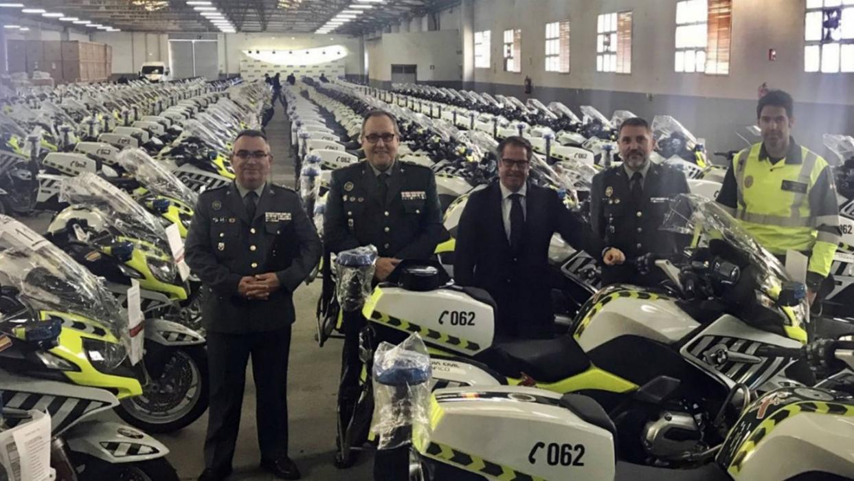 Motos Guardia Civil