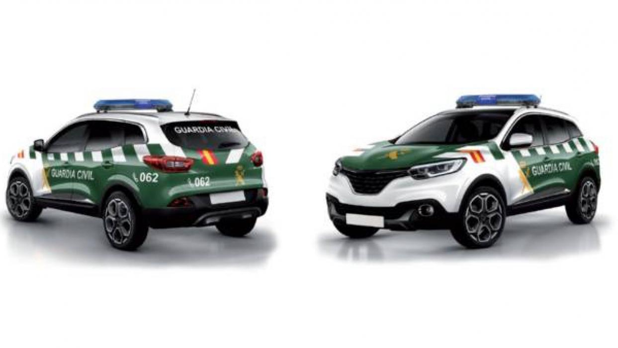 Nuevos coches de la Guardia Civil
