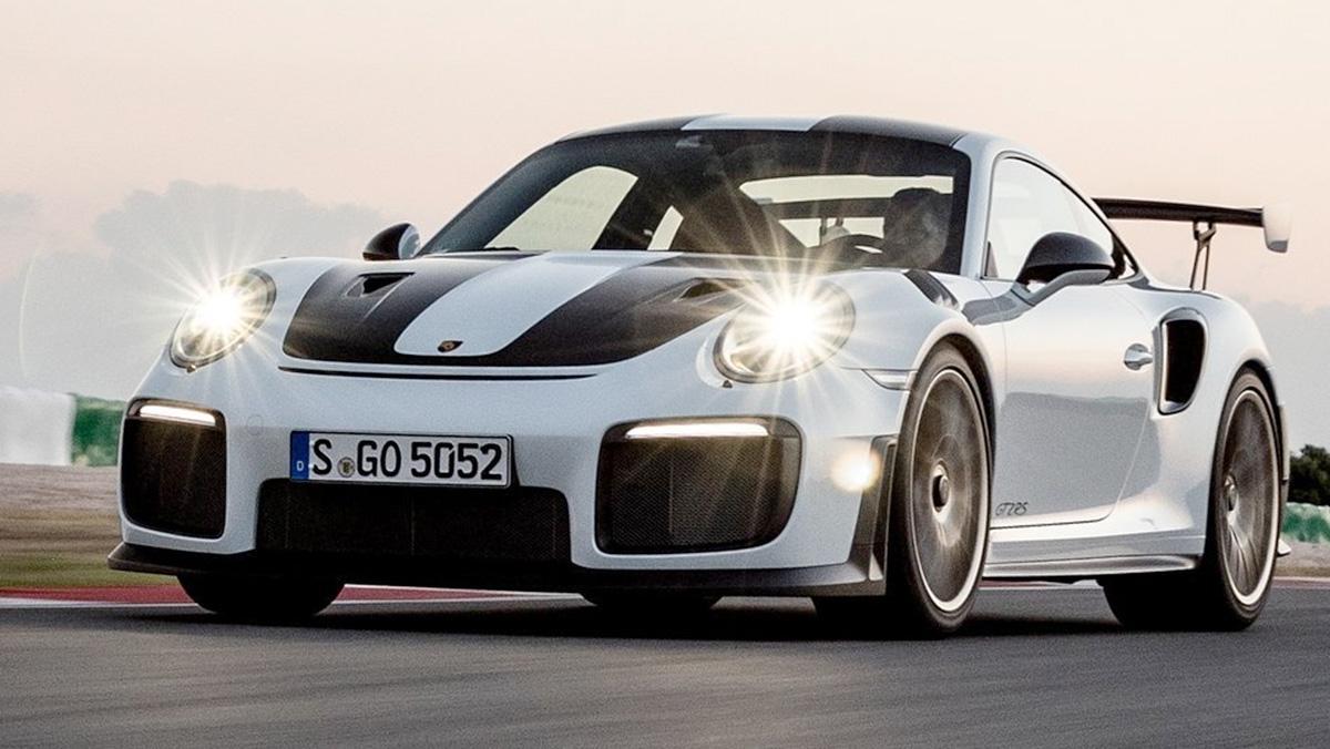 Porsche 911 GTS RS 2018