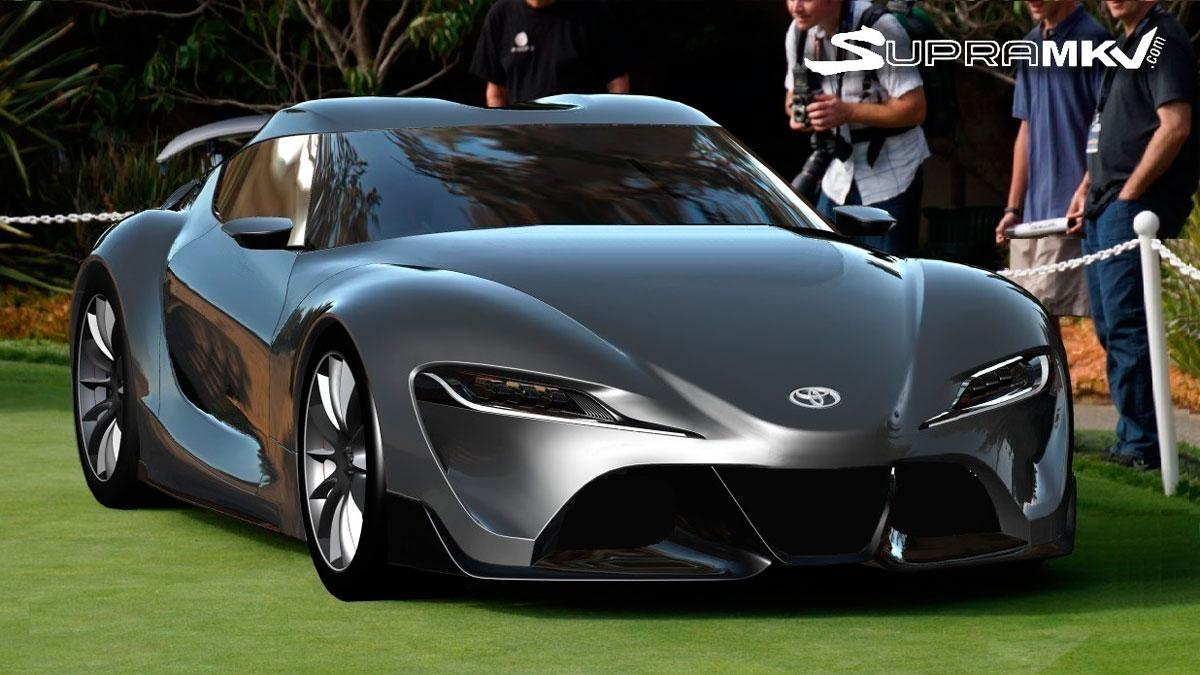 Render Toyota Supra 2018 dibujo futuro