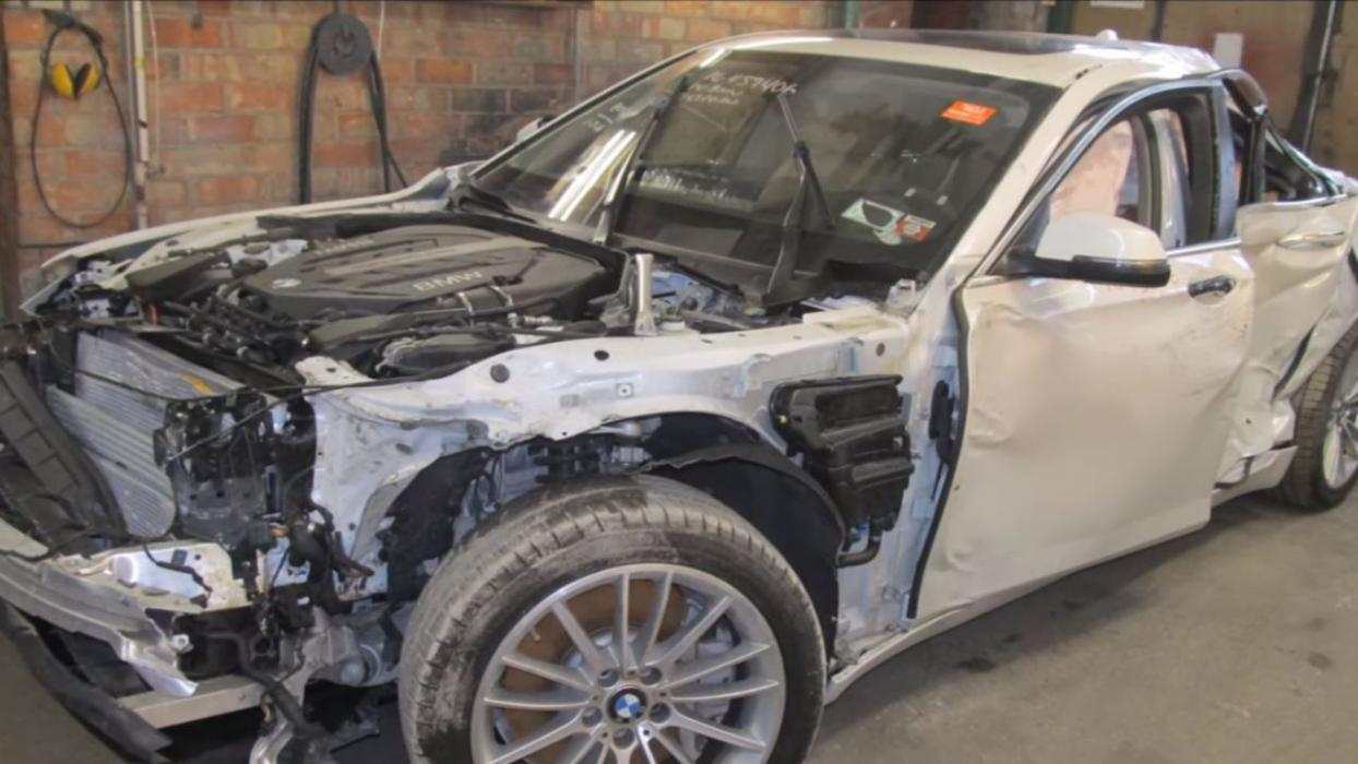 reparación BMW Serie 7