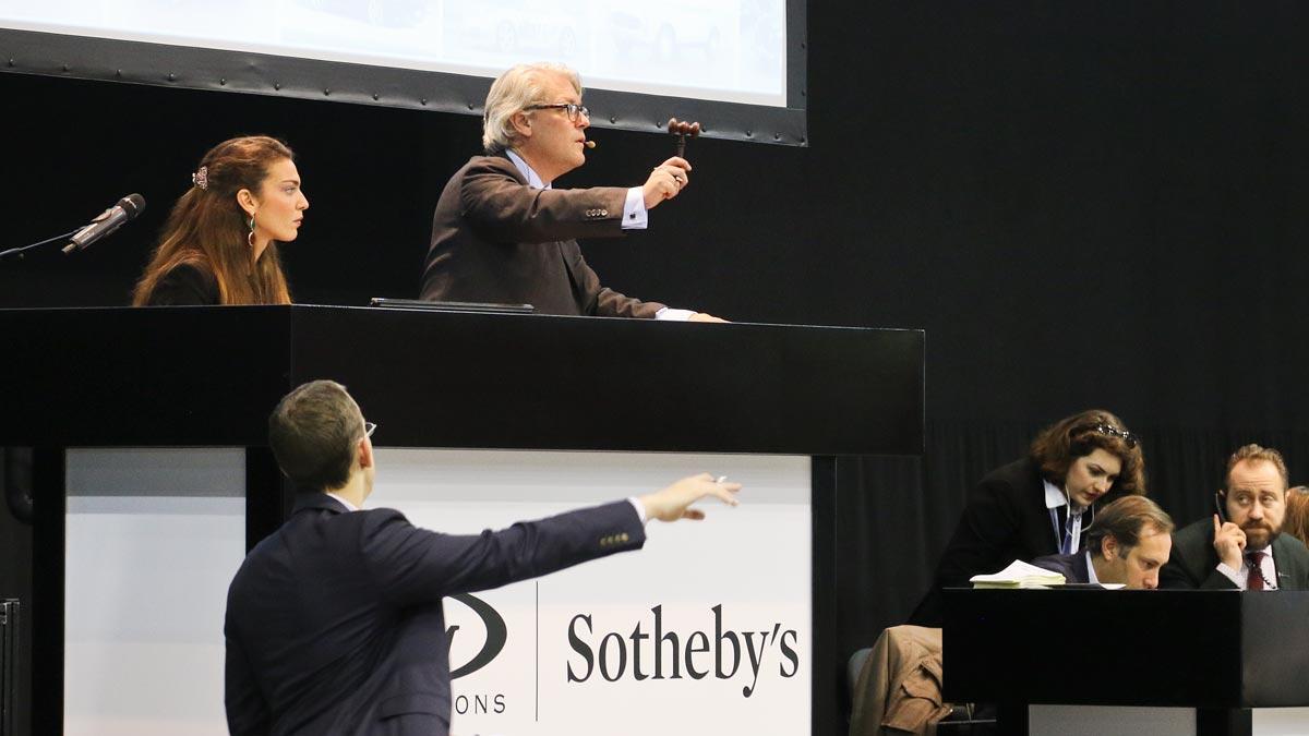 Subastas de coches Sotheby RM Auctions lujo