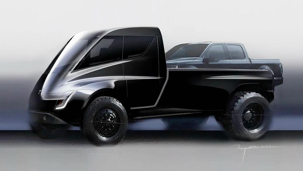¿Un Tesla pick-up?