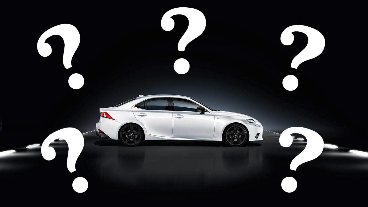 El Lexus IS y sus rivales
