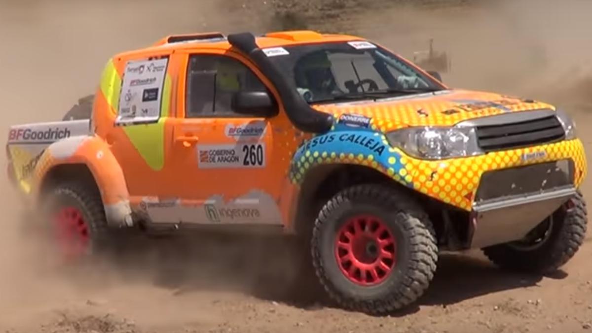 El coche de Jesús Calleja para el Dakar 2018