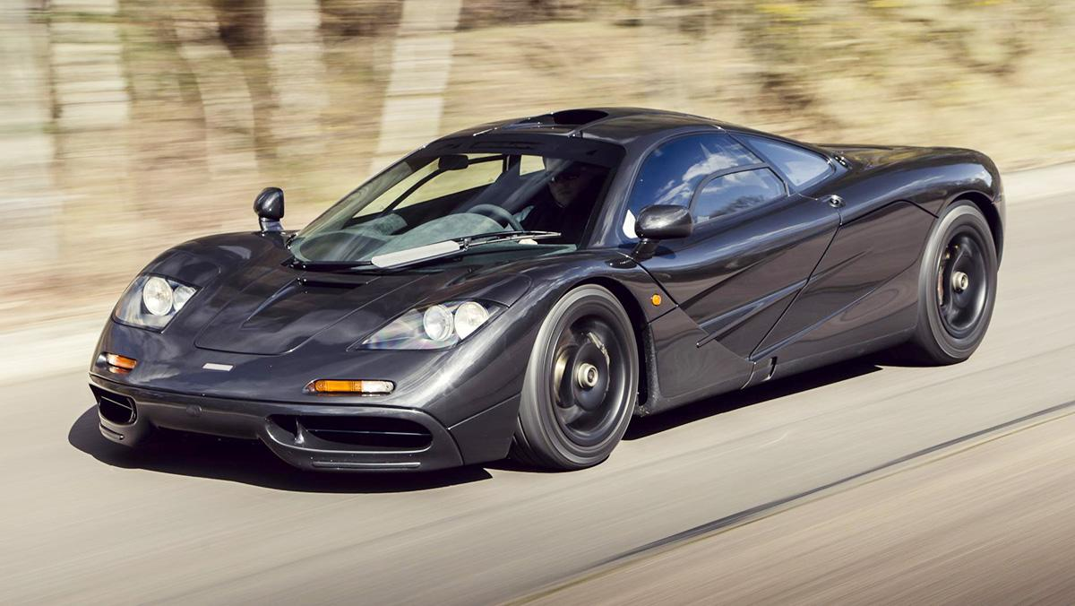 Los coches más rápidos de la Historia - McLaren F1 (1993)