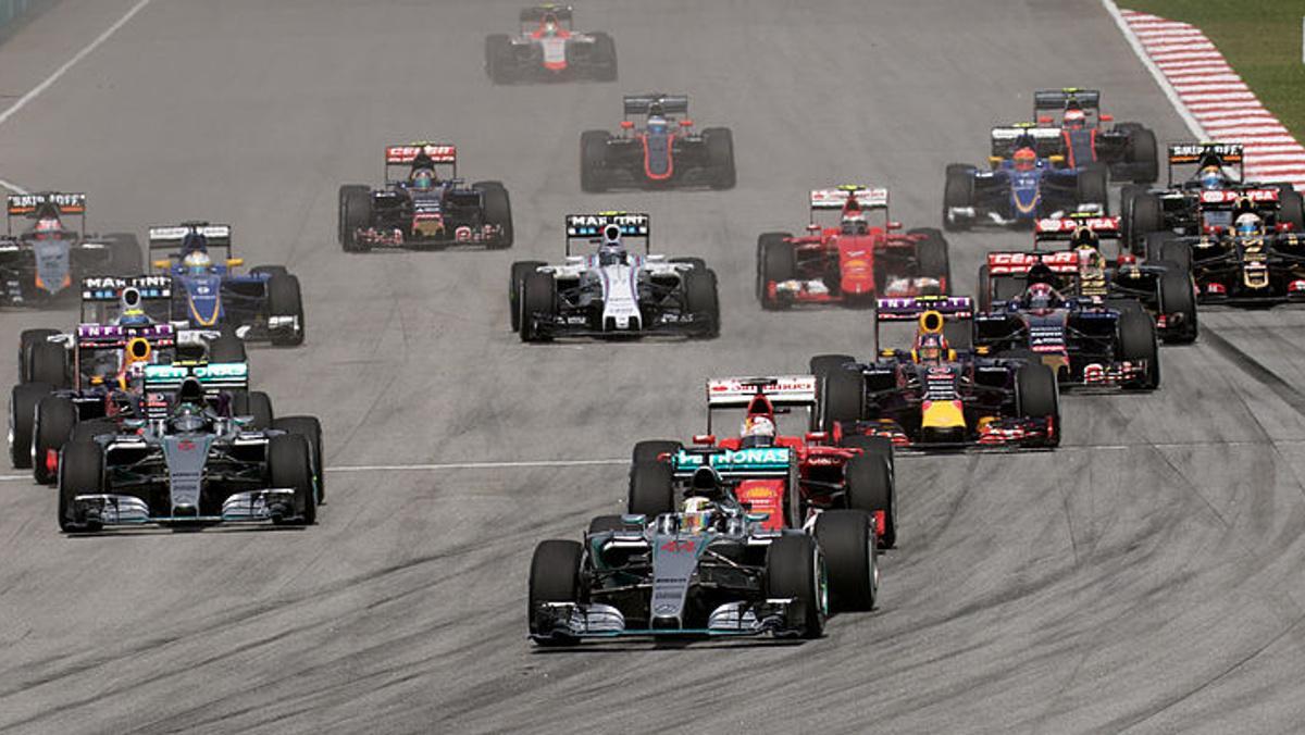 Distancia kilométrica de cada GP F1