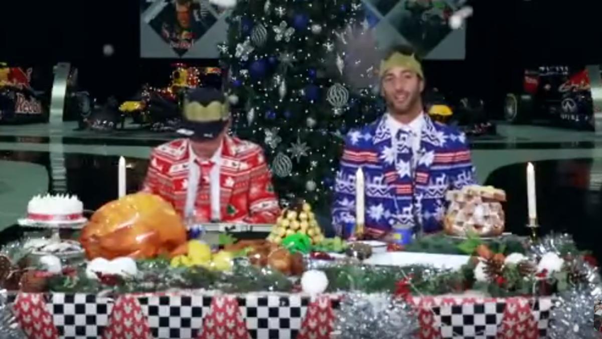 La divertida felicitación de Verstappen y Ricciardo