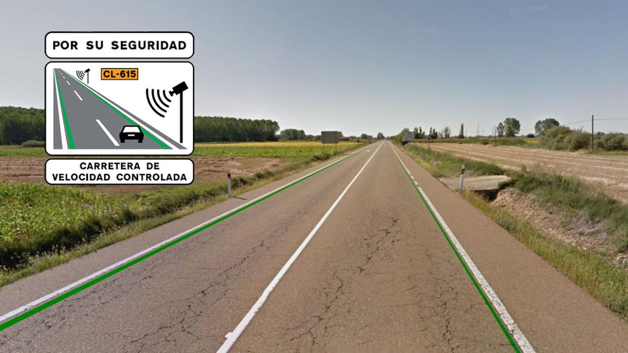 lineas verdes velocidad accidentes