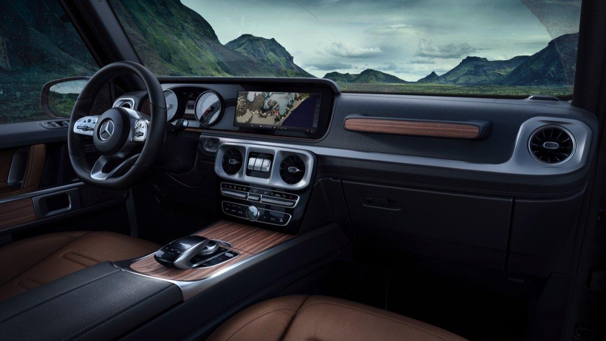 Mercedes Clase G 2018 (interior)
