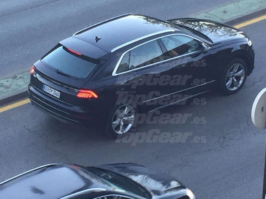 Hemos cazado al nuevo Audi Q8
