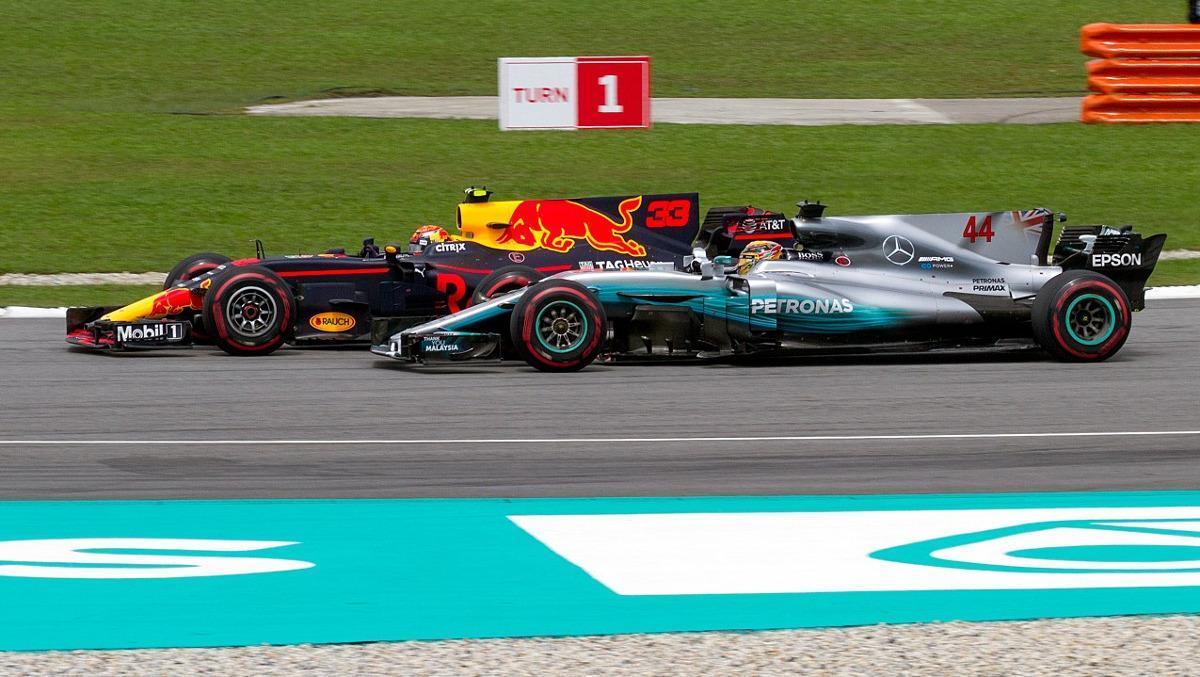 Número de adelantamientos F1 2017