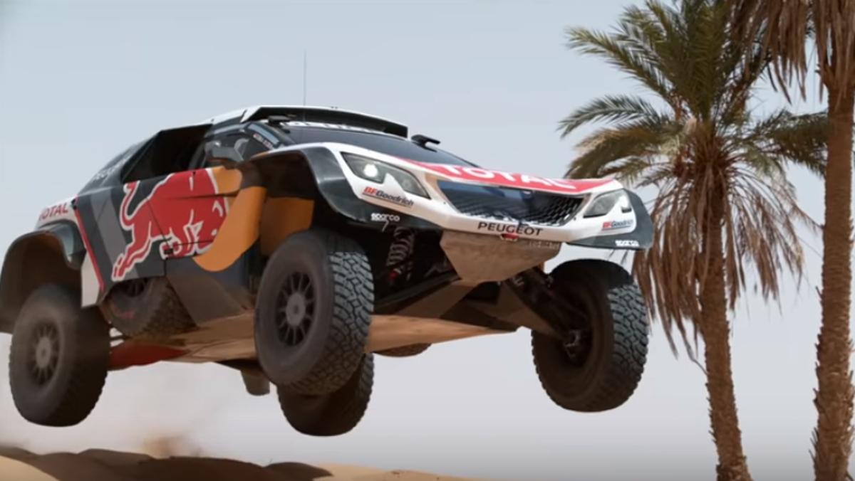 Peugeot 3008 DKR Maxi y Sainz, dos matadores del desierto