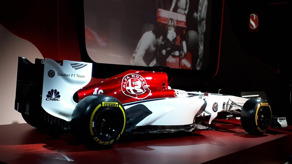 PRESENTACIÓN ALFA ROMEO SAUBER F1 TEAM 2018