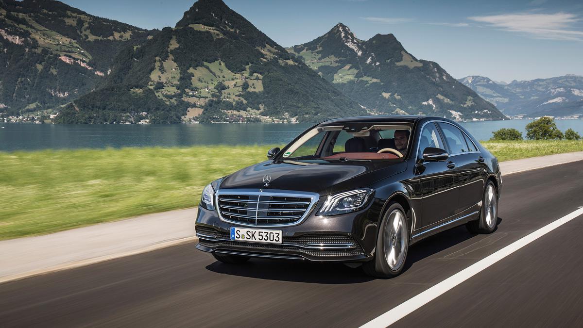 Prueba Mercedes-Benz S500L