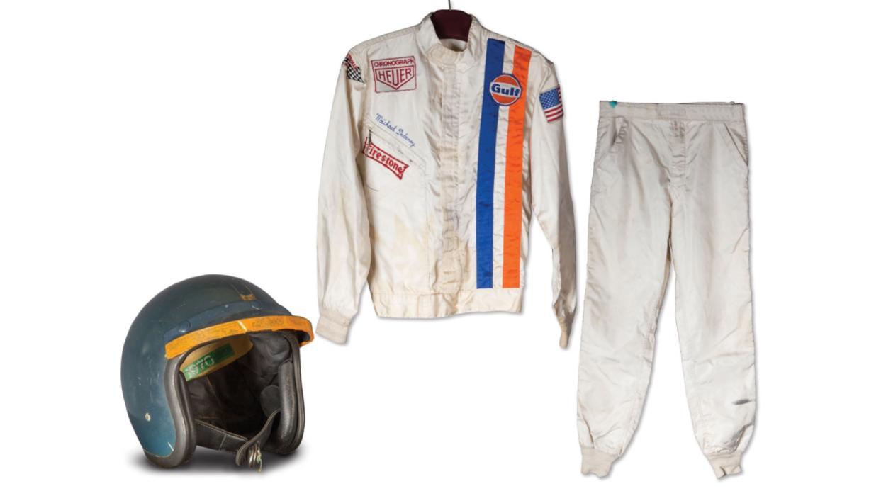 Ropa Steve McQueen en Le Mans