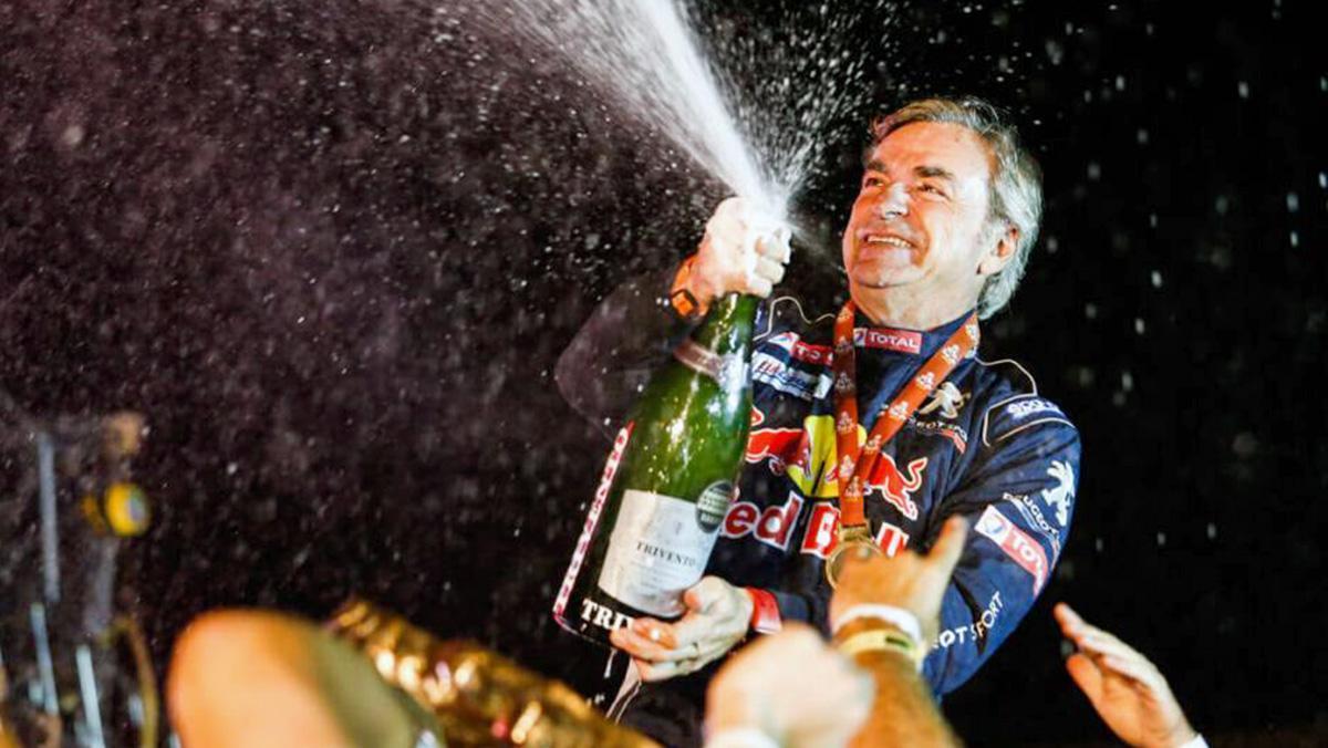 Carlos Sainz logra la victoria en el Dakar 2018