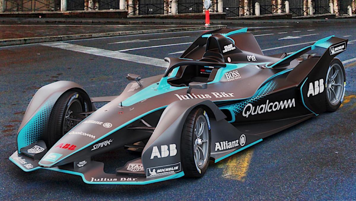 Los coches de la Fórmula E