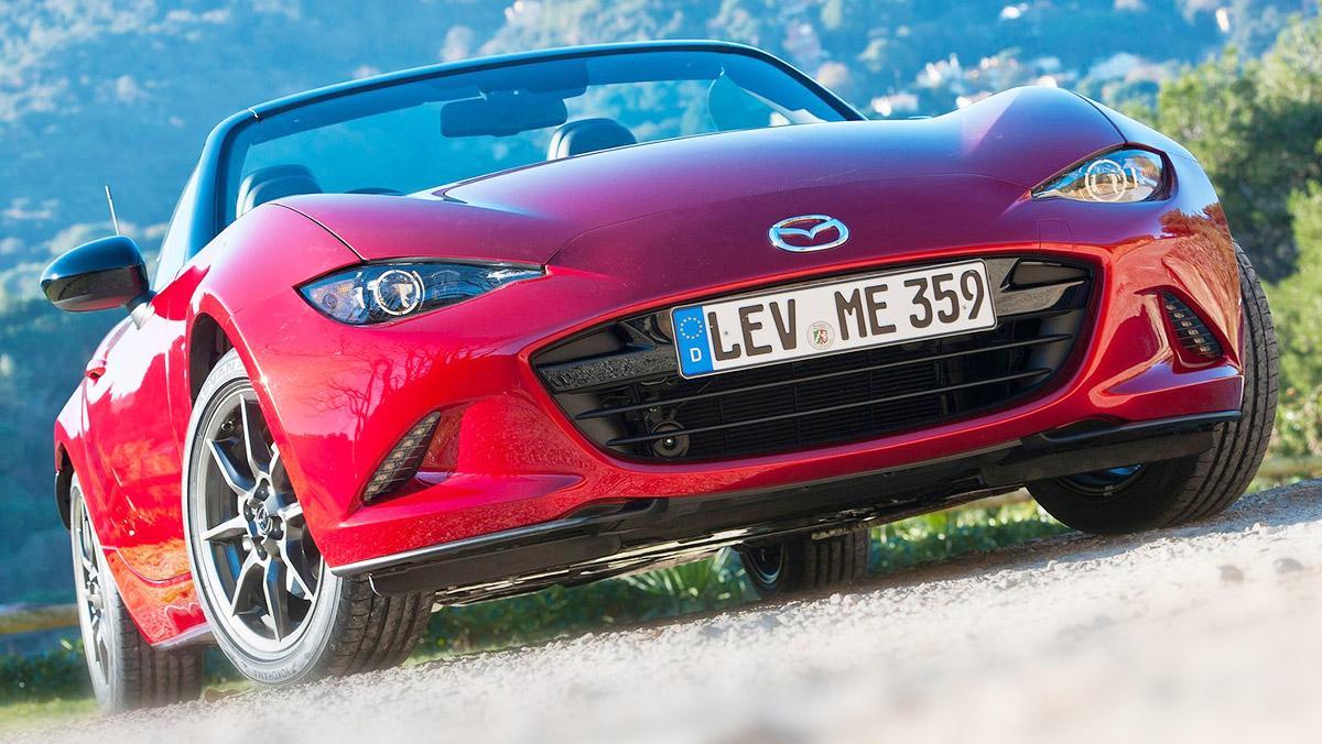 Los deportivos más vendidos en España en 2017 - Mazda MX-5