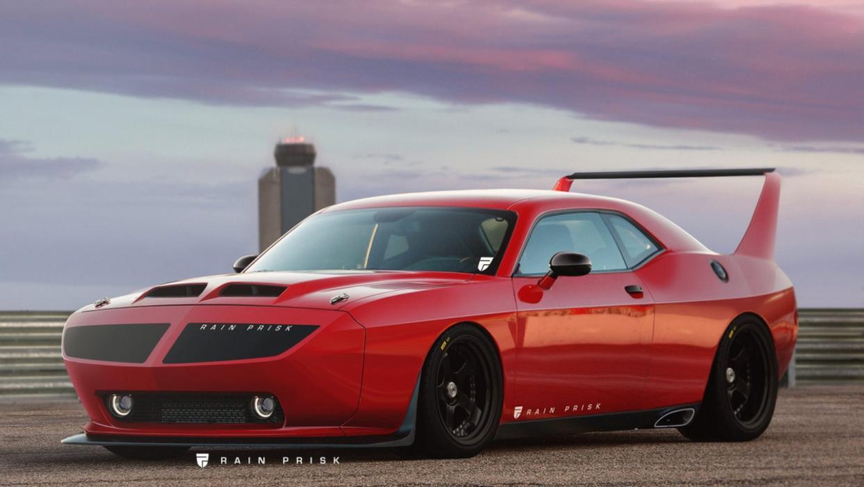 Dodge Challenger by Rain Prisk