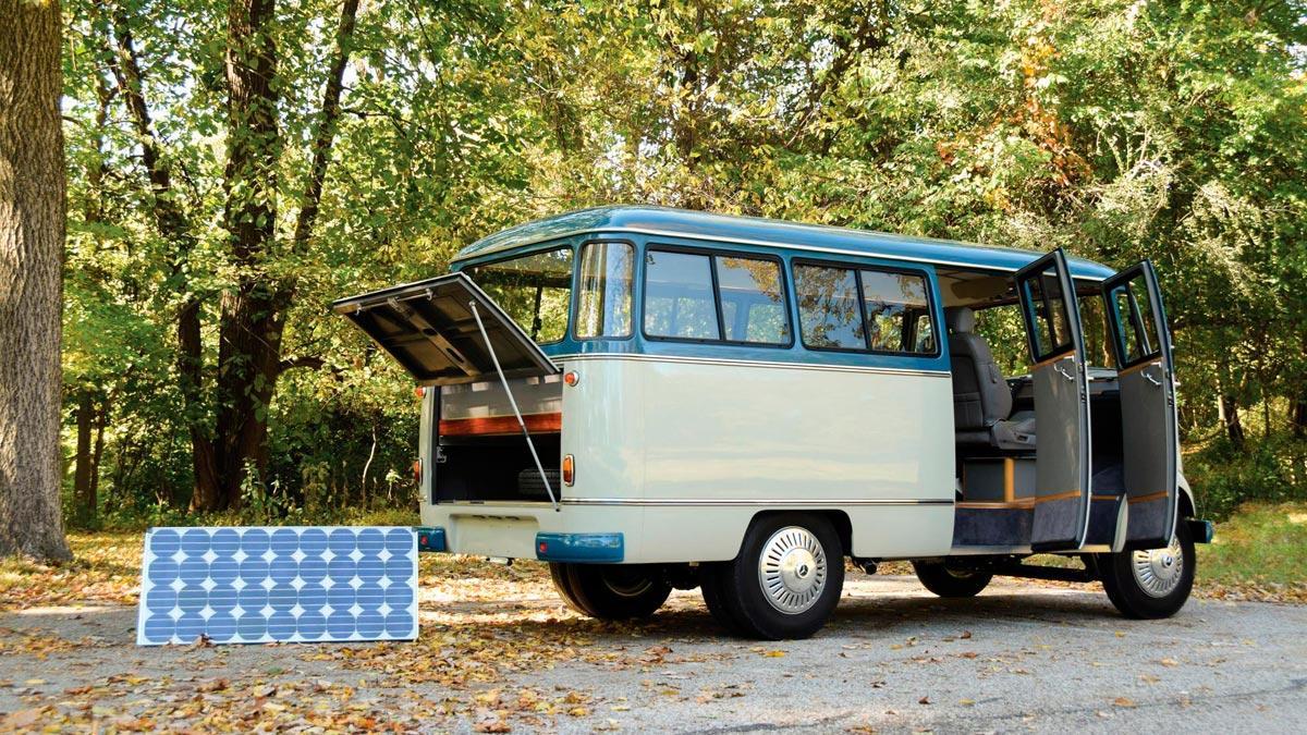 autocaravana caravana clasica lujo vintage hipster