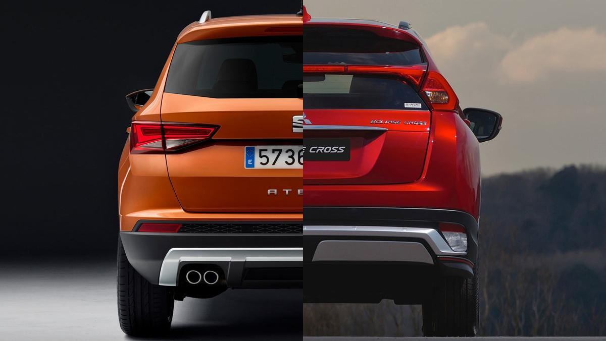 Mitsubishi Eclipse Cross o Seat Ateca: ¿cuál comprar?