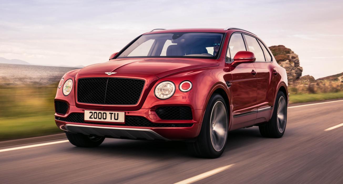 Nuevo Bentley Bentayga V8