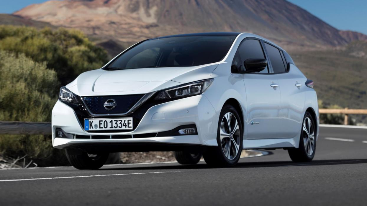 prueba nissan leaf 2018 el el ctrico m s recomendable. Black Bedroom Furniture Sets. Home Design Ideas